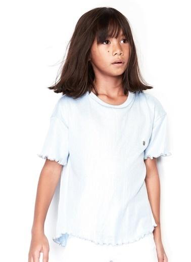Tyess Kız Çocuk Mavi T-Shirt 19SS0TJ4519 Mavi